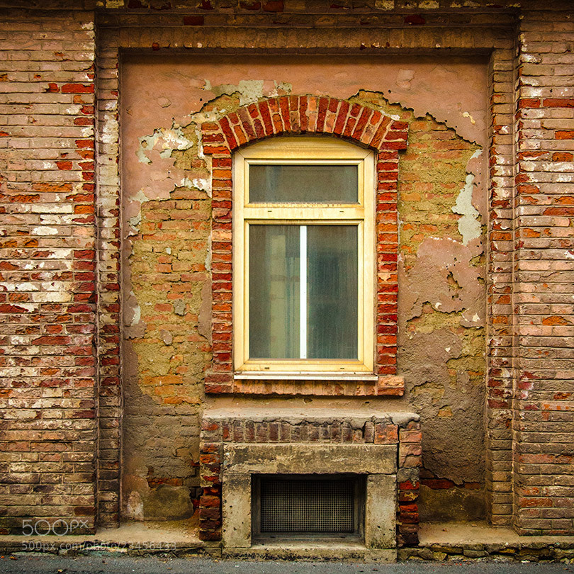 Photograph Brick Facade by Michael Hansmann on 500px