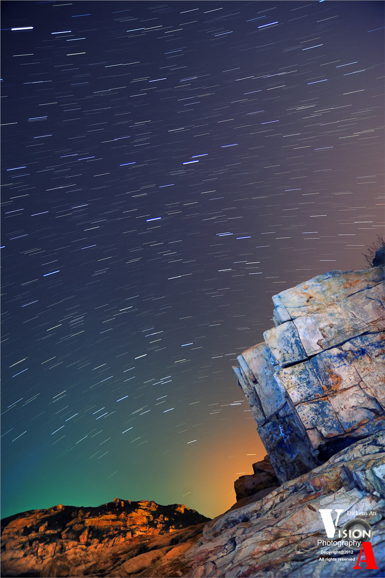Photograph Hong Kong Shek O South Side Startrail by Dickens Au on 500px