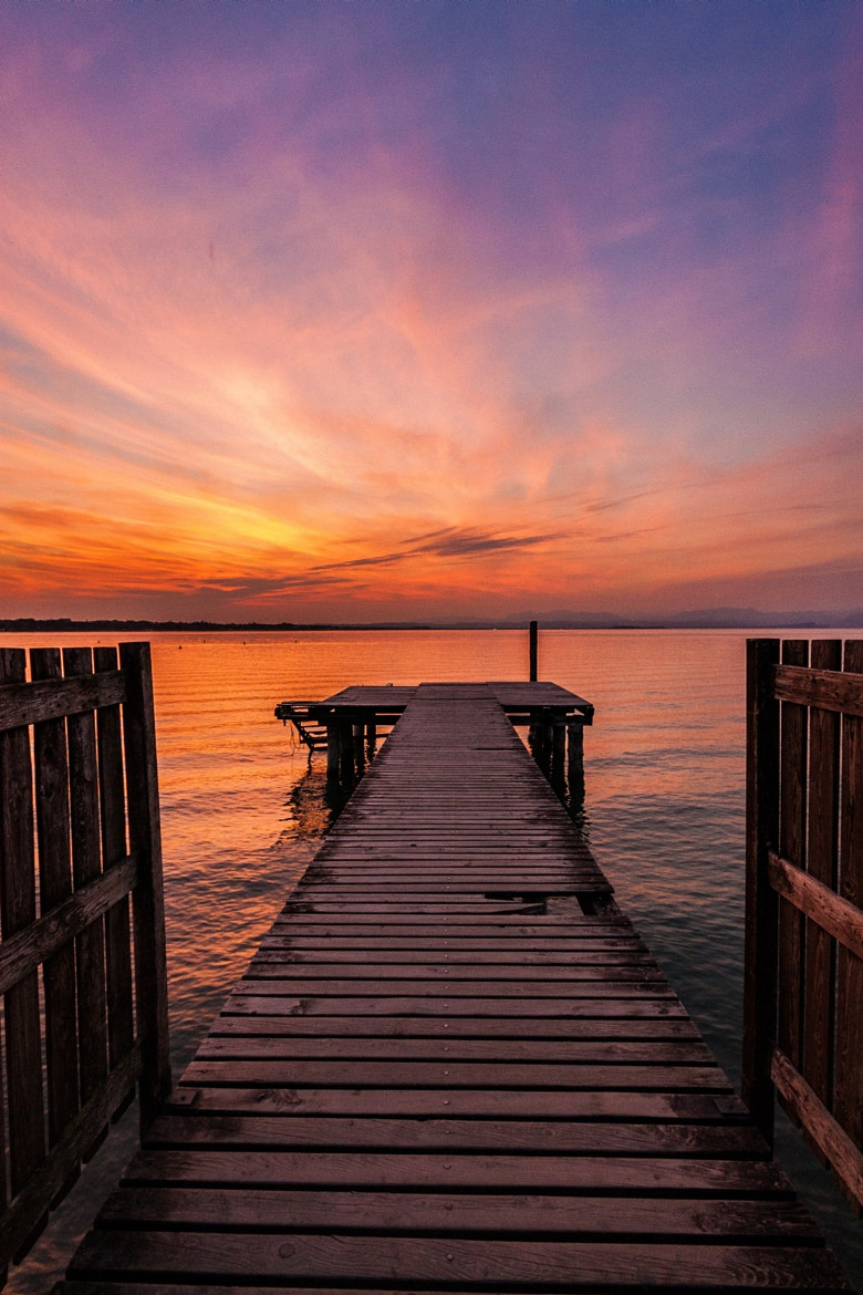 Photograph Lago di Garda - Pier (Hand-held) by Marcin Baran on 500px