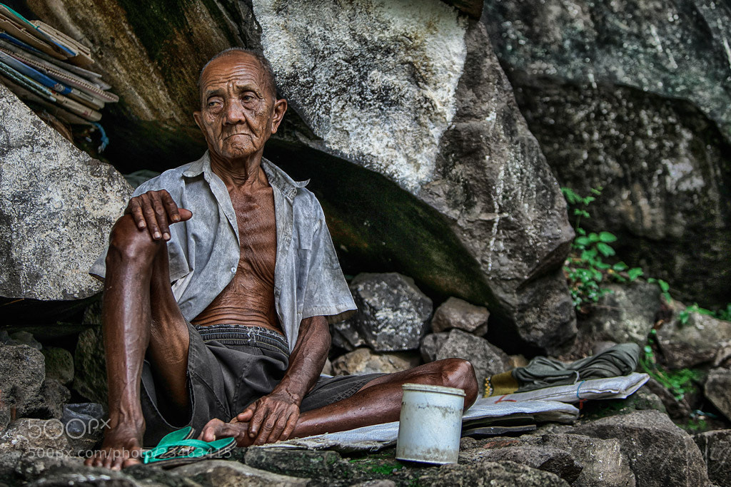 Photograph The Old Man 2 by Rose Kampoong on 500px