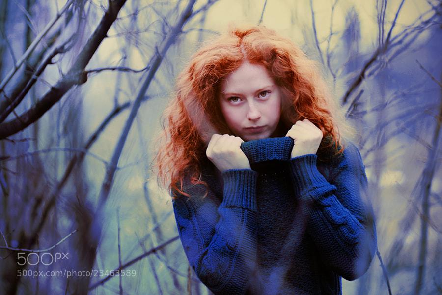 Photograph Feeling blue by Nađa Berberović on 500px