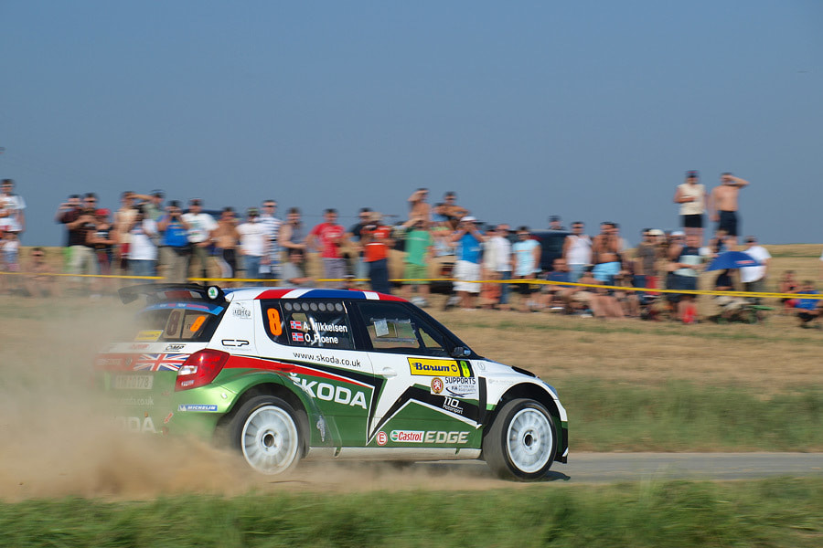 Photograph Andreas Mikkelsen, Skoda Fabia S2000 by Tomasz Macherzyński on 500px
