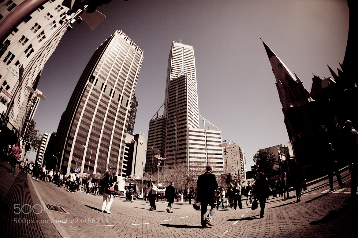 Photograph Street Walk in Perth city by Cindy  Pang on 500px