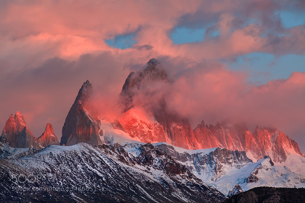 Photograph Monte Fitz Roy by Helminadia Ranford on 500px