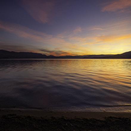 Gyro Beach sunset Kelowna BC