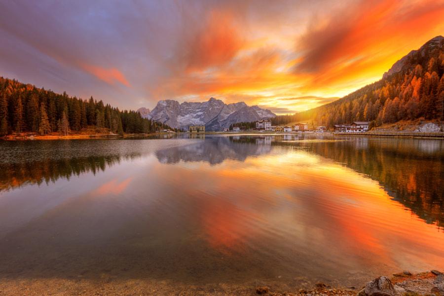 Осенний закат... by Ed Gordeev on 500px