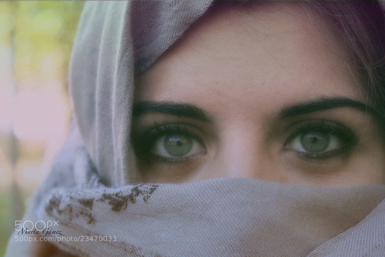 Photograph Green Eyes by Marta Gámez Medina on 500px