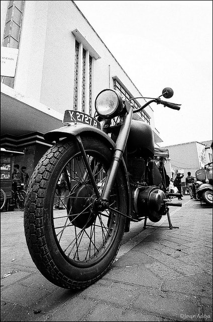 Photograph Old Bike by Jovan Aditya on 500px
