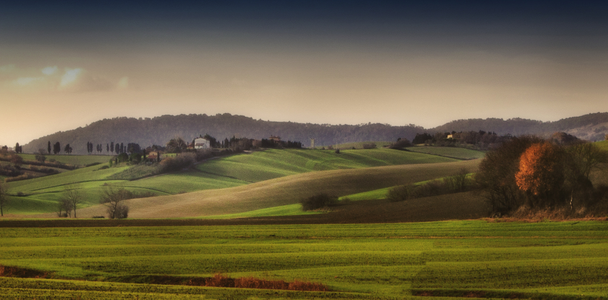 Photograph Tuscany hills by Antonio  longobardi on 500px