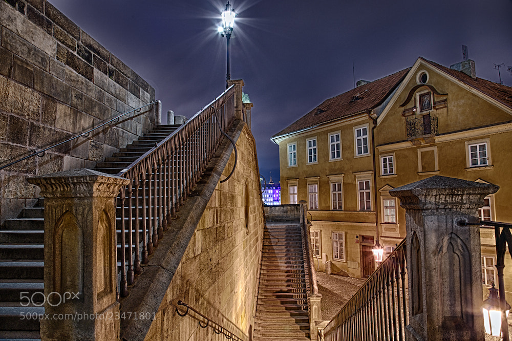 Photograph Charles bridge steps by Thomas Pipek on 500px