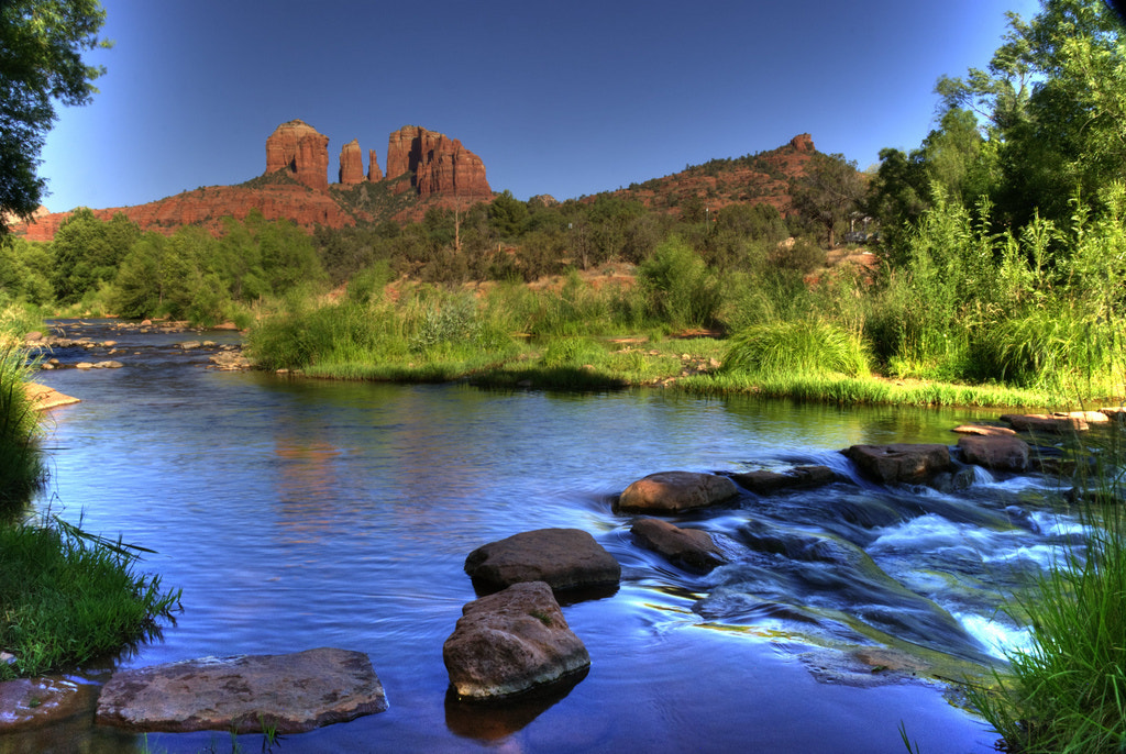Photograph Afternoon at Oak Creek, Sedona, Az by Dennis Brown on 500px