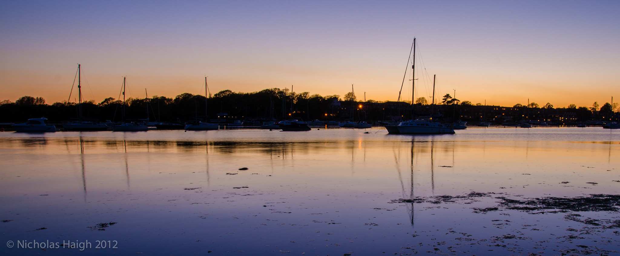 Photograph River Hamble at Dusk by Nick Haigh on 500px
