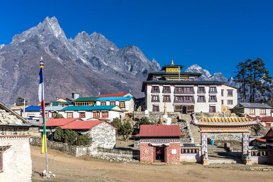 Tengboche to Dingboche, Nepal by Scott Biales on 500px.com