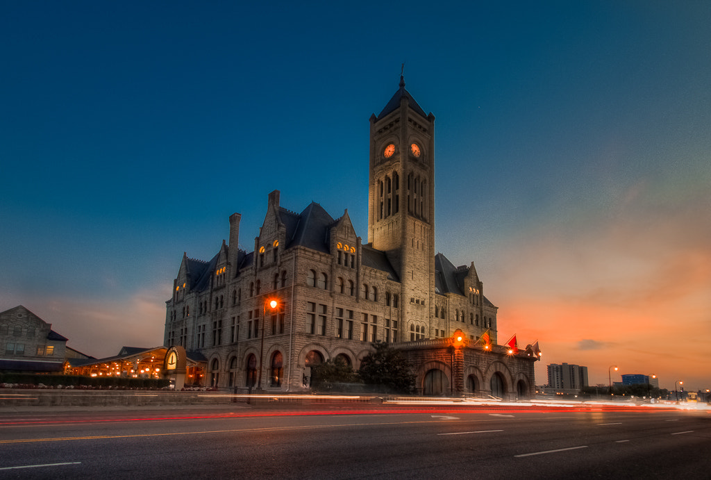 Photograph Union Station Nashville TN by Chriss Goyenechea on 500px