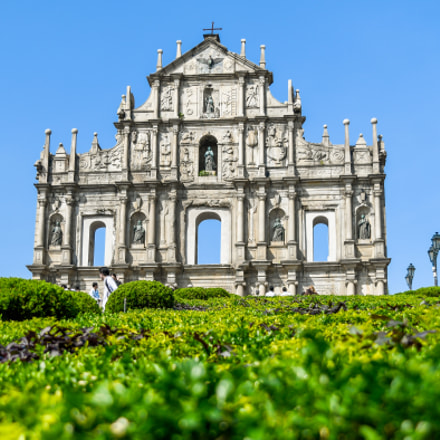 Ruins of St.Paul, Macau