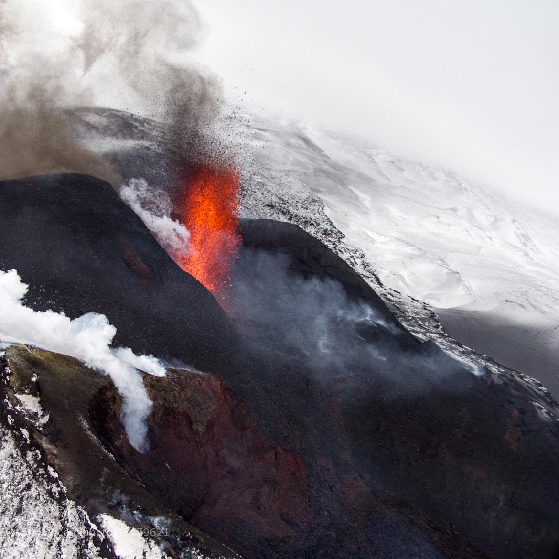 Photograph Kamchatka. Volcanic eruption Tolbachik by Serge Kozintsev on 500px