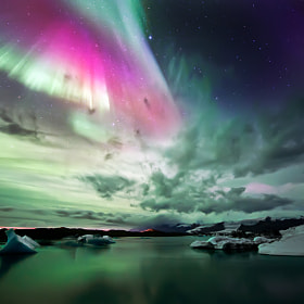 Jökulsárlón Lake by Luca Liloni (liloniluca)) on 500px.com