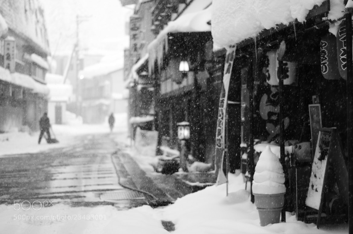 Photograph winter village street by Sayaka Suzuki on 500px