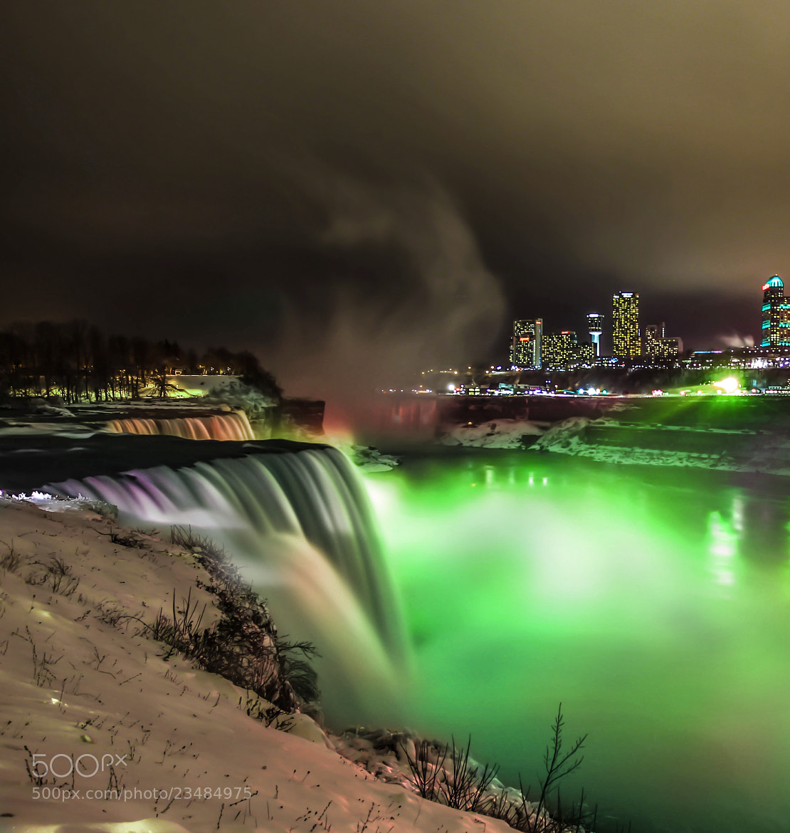 Photograph Green Niagara Falls by Giamma Broilo on 500px