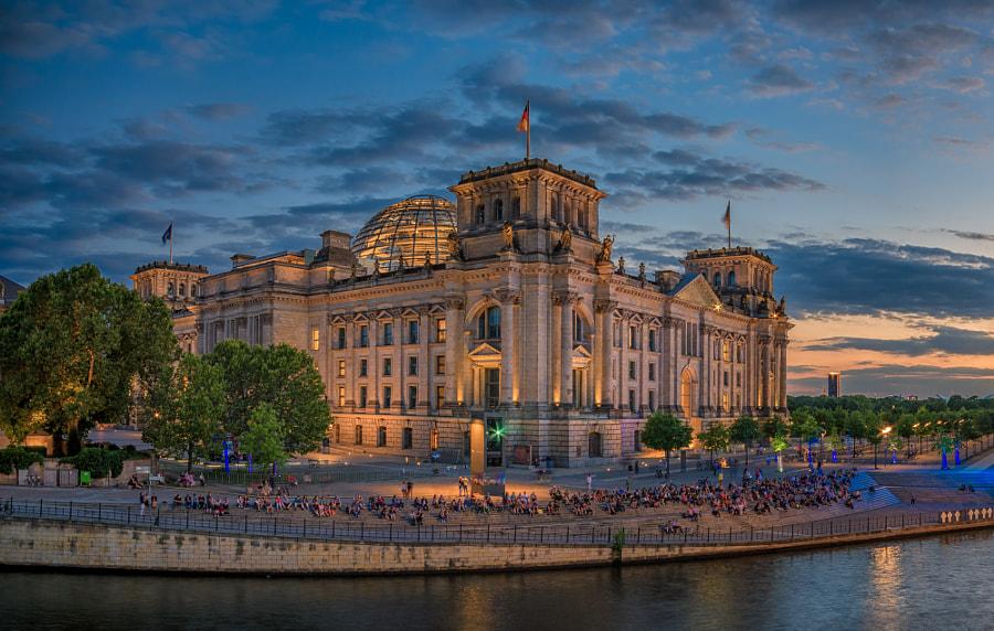 Berlin, Bundestag building area III