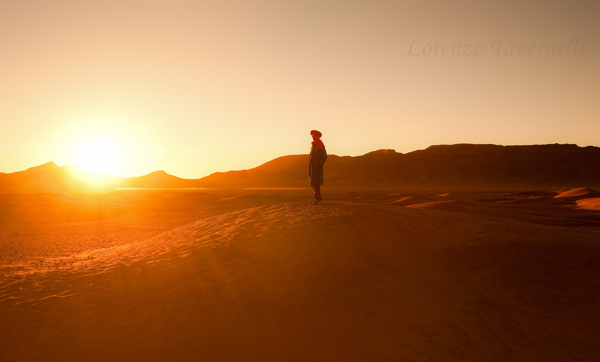 Photograph sunrise in the desert by Lorenzo Tavernelli on 500px