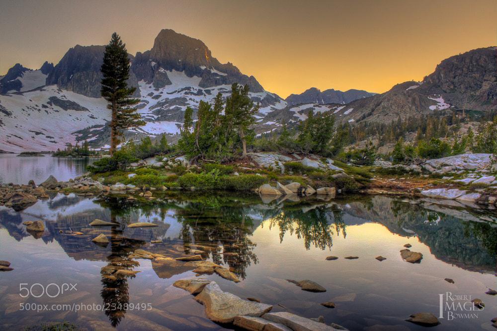 Photograph Sierra Sunset by Bob Bowman on 500px