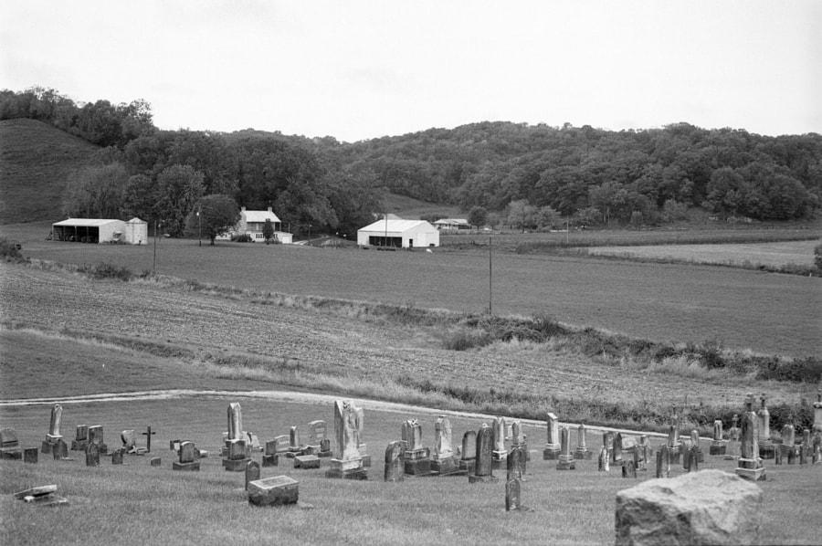 Farm Landscape, Mappen, Il. by Richard Keeling on 500px.com