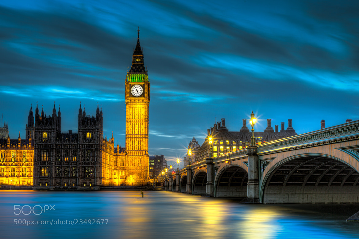 Photograph Big Ben and Westminster Bridge by JP  on 500px