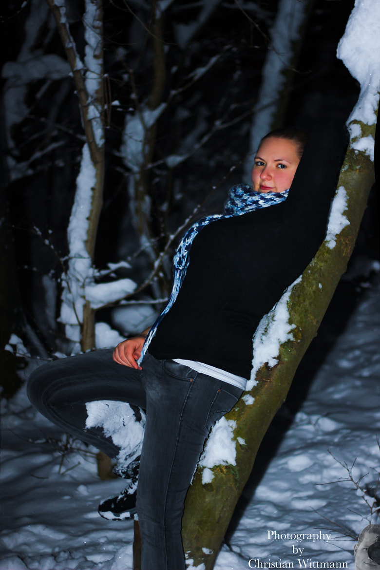Photograph Schnee Shooting mit Susi by Chris Photography  on 500px