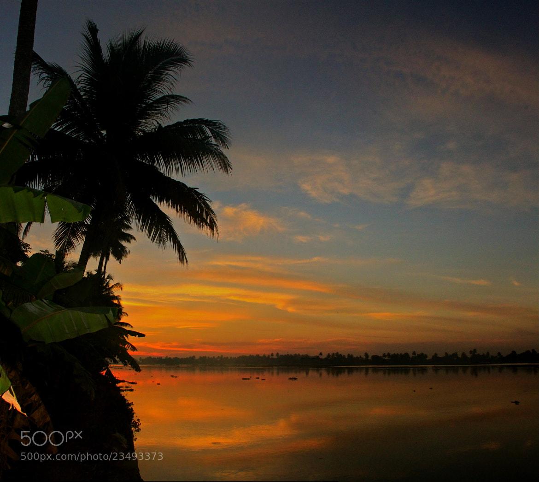 Photograph Sunset, Kumarakom, Kerala by Karthik Gellia on 500px
