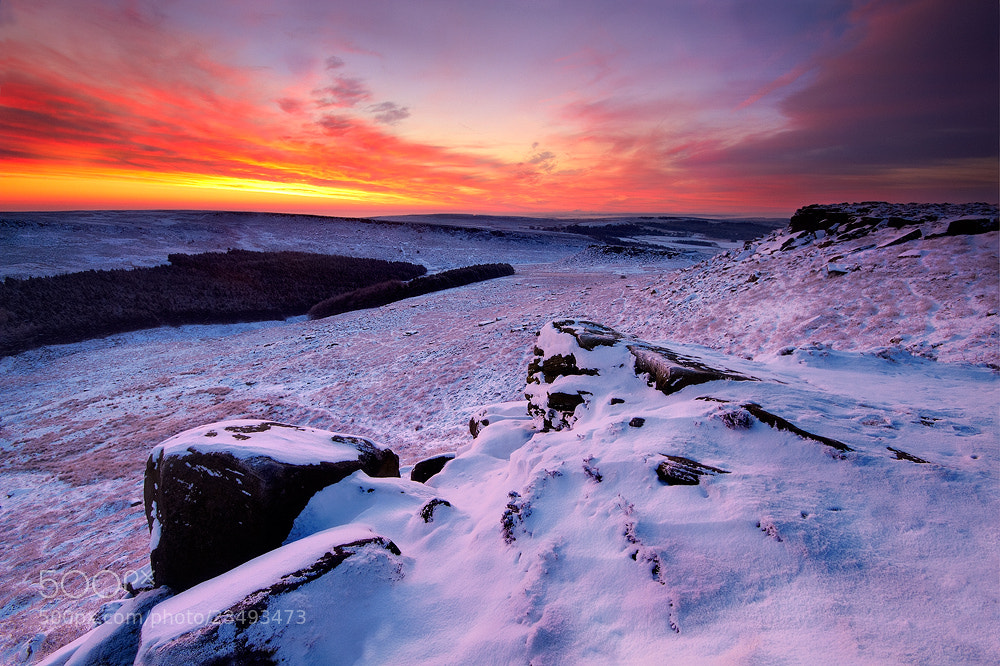 Photograph Fire And Ice by Chris Miles on 500px
