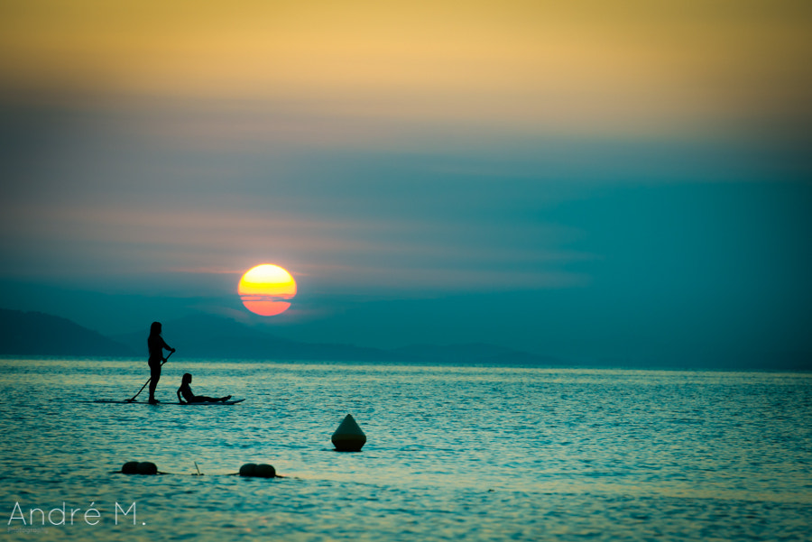 Photograph Sunset Paddle by André Moeller on 500px