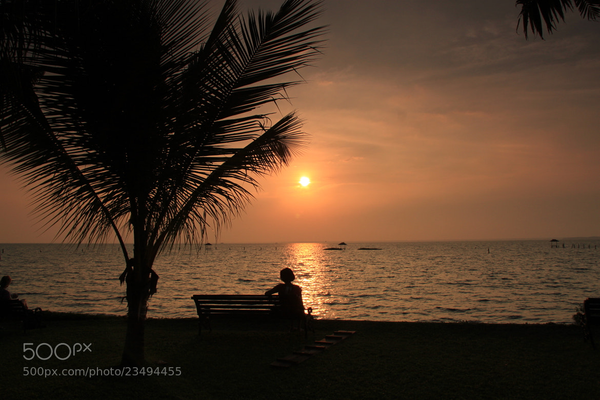 Photograph Watching the Sunset by Karthik Gellia on 500px
