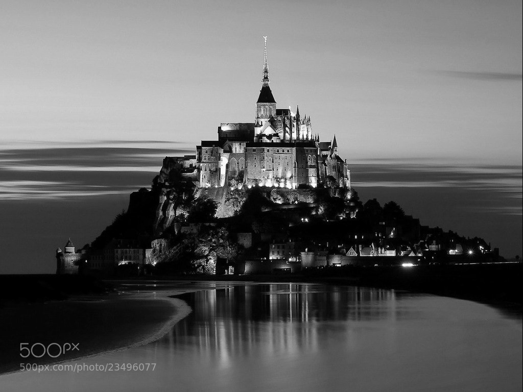 Photograph Mont st michel. by David Patrick on 500px