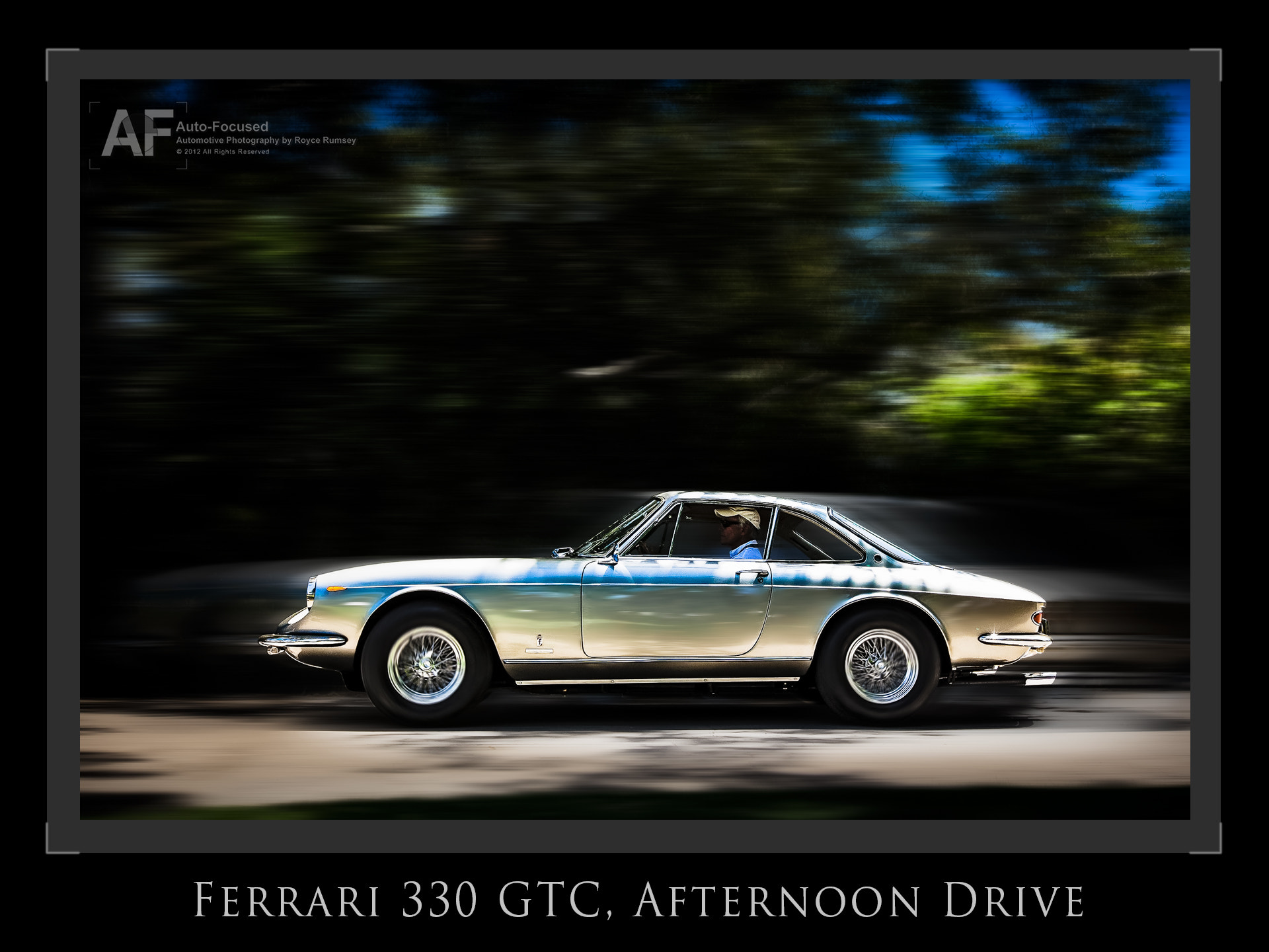 Photograph Ferrari GTC, Afternoon Drive Scene... by Royce Rumsey on 500px