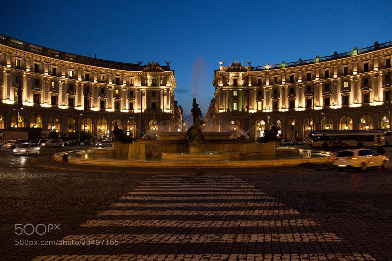 Photograph Piazza della Repubblica by Balázs Nagy on 500px
