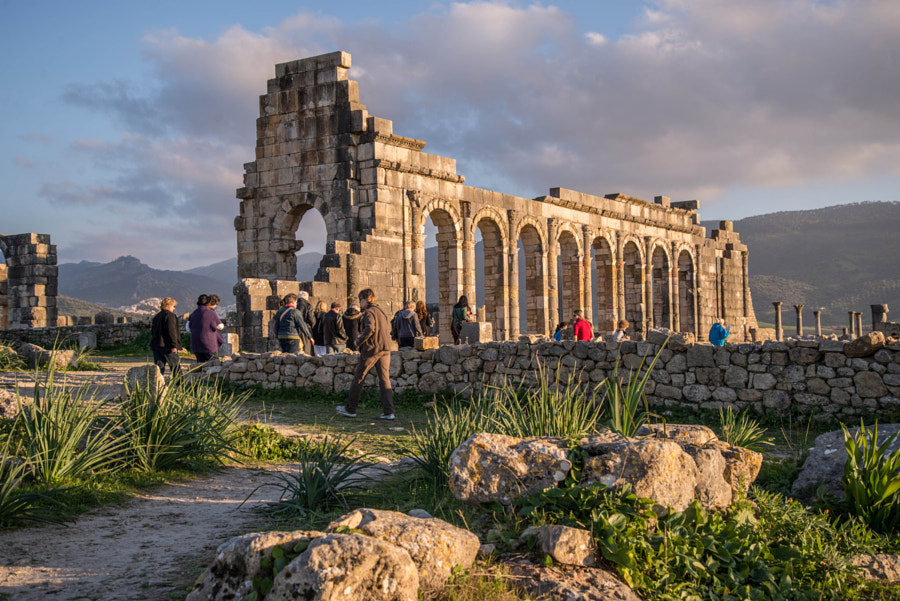 Photograph Volubilis, Roman ruins, in Morocco by Joe Routon on 500px