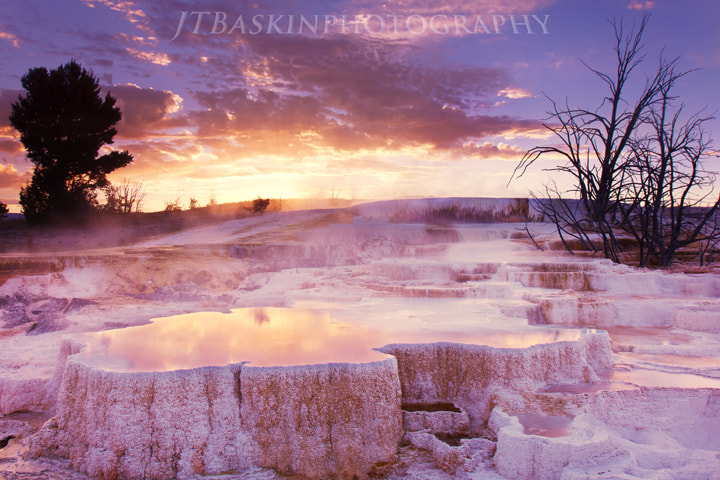 Photograph Boiling Earth - Yellowstone National Park by taylor baskin on 500px