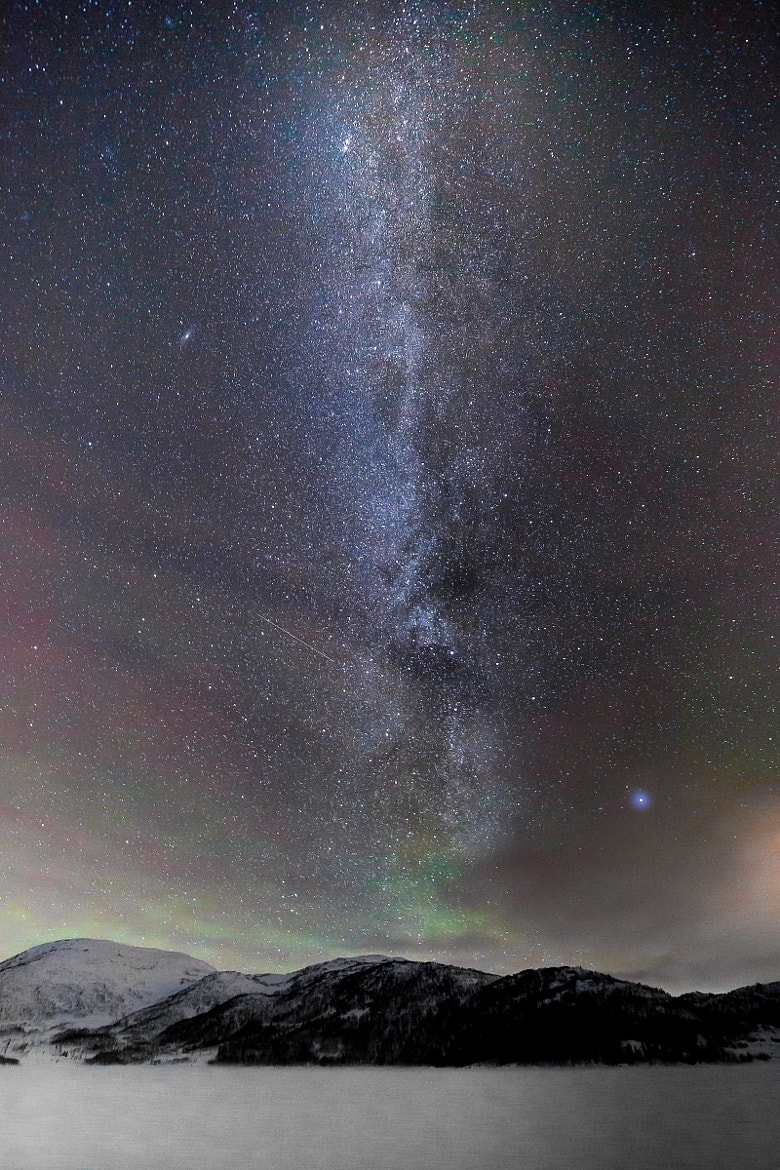 Photograph Milky way by Tore Heggelund on 500px