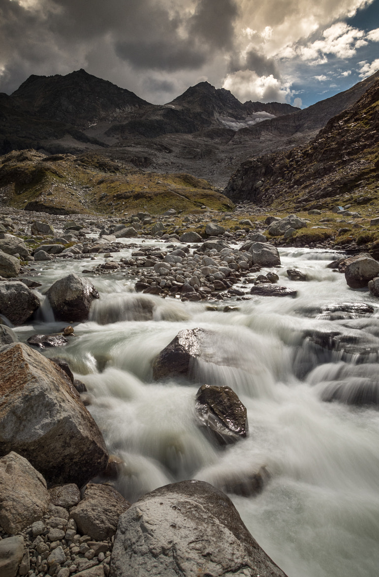Photograph River flooding down the gletscher by Search4light on 500px