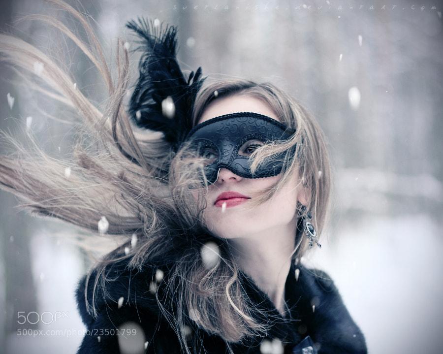 Lady in mask by Lightlana Skywalker (svetlanishe)) on 500px.com