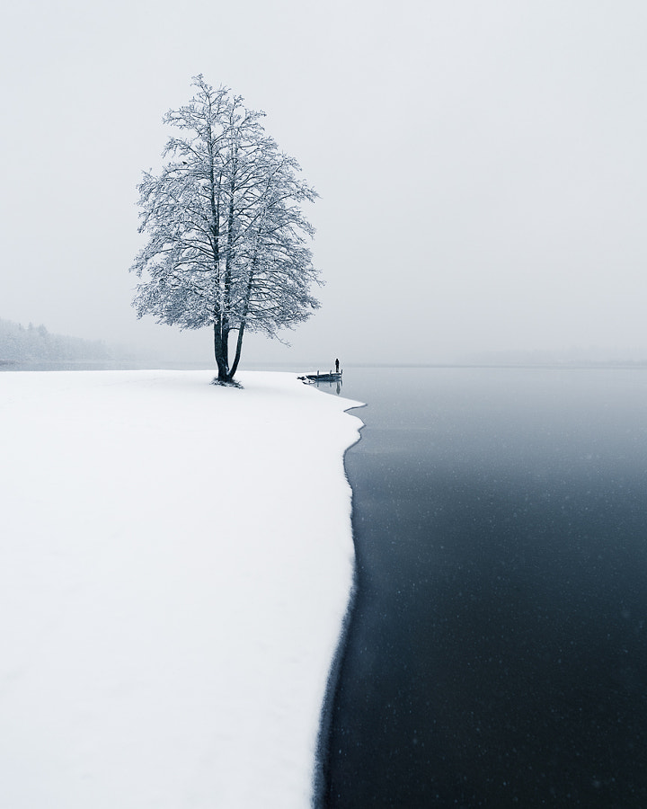 First Snow by Mikko Lagerstedt on 500px.com