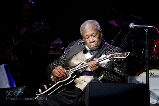 Photograph BB King 6 by Sandy Stigliano on 500px