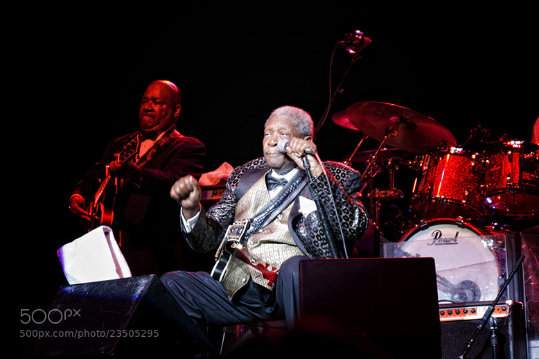 Photograph BB King 4 by Sandy Stigliano on 500px