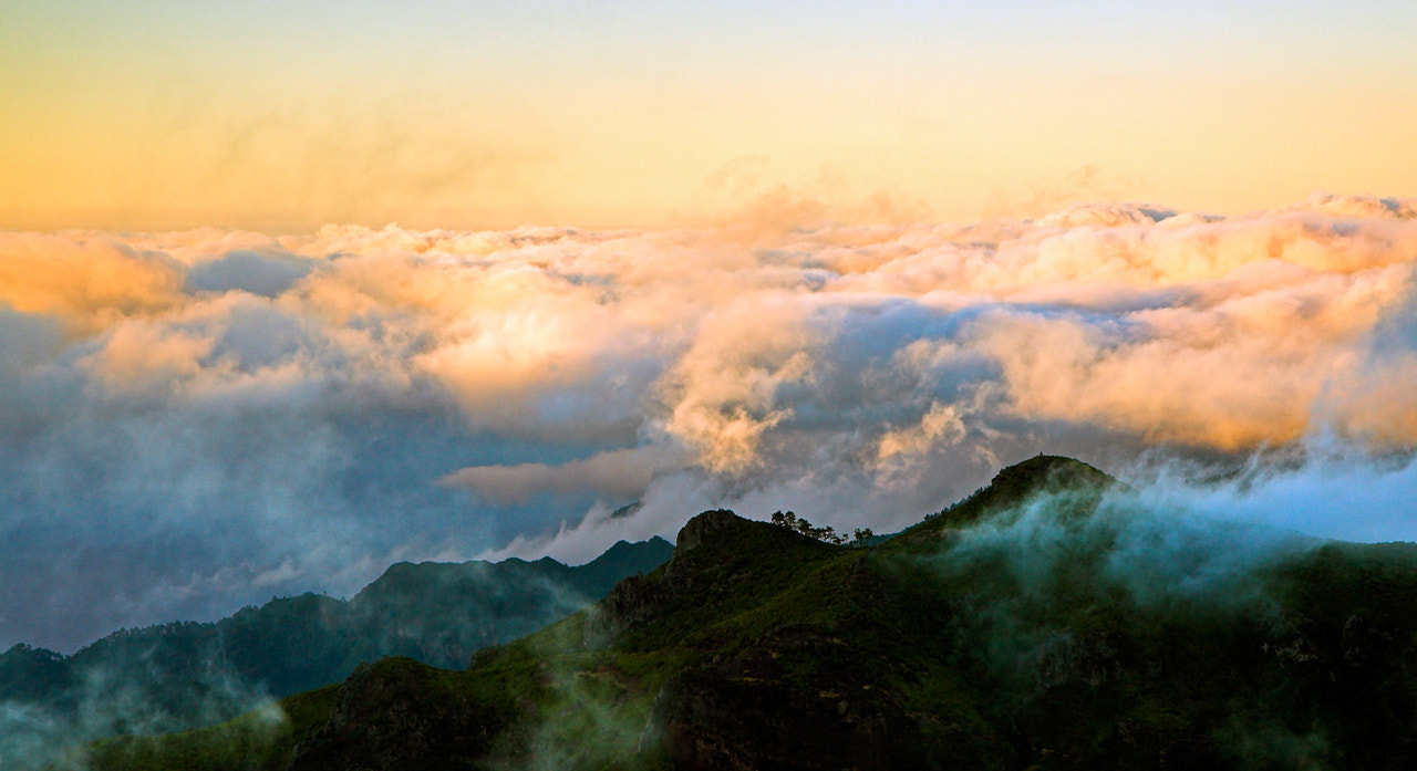 Photograph Sea of red clouds over Madeira by Javier Abad on 500px