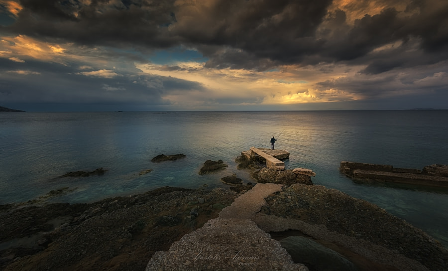 Before the rain, автор — Apostolos Aginaris на 500px.com