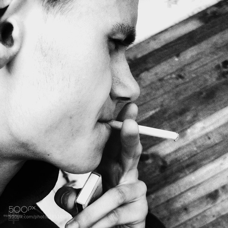 "Photograph Morning cigarette by Tomáš ""BLACKDEVIL"" Špánik on 500px"