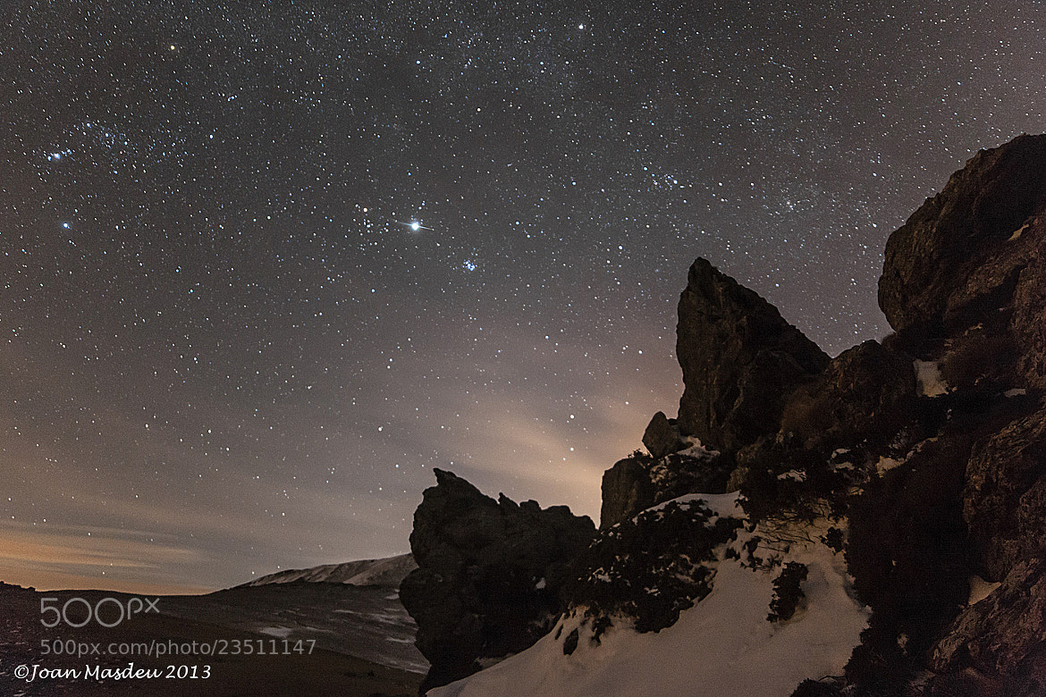 Photograph Jupiter and the seven sisters by Joan Masdeu on 500px