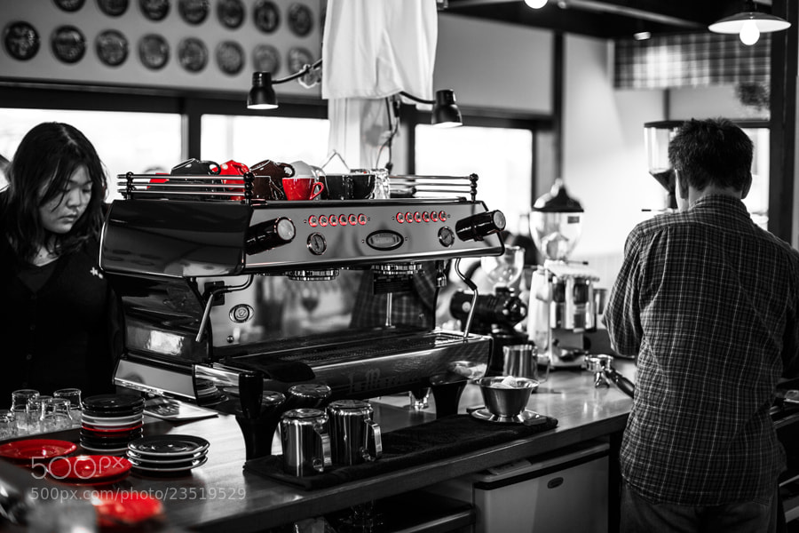 Photograph At the Cafe by Tim Grey on 500px
