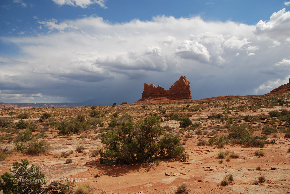 Photograph Storm near Arches NP by Julius Oklamcak on 500px